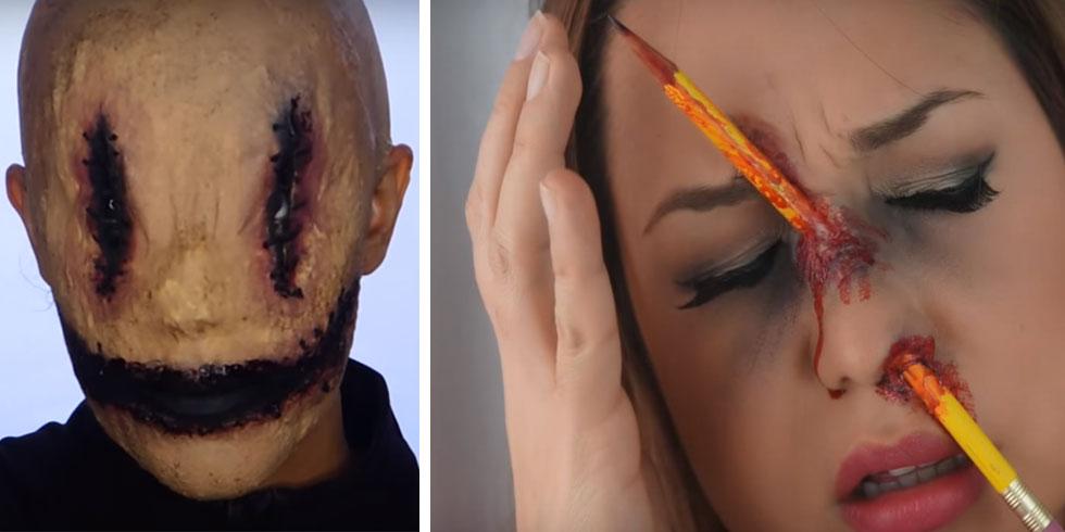 Videos De Maquillaje De Halloween.Recopilacion De 5 Maquillajes Para Arrasar Este Halloween Videos